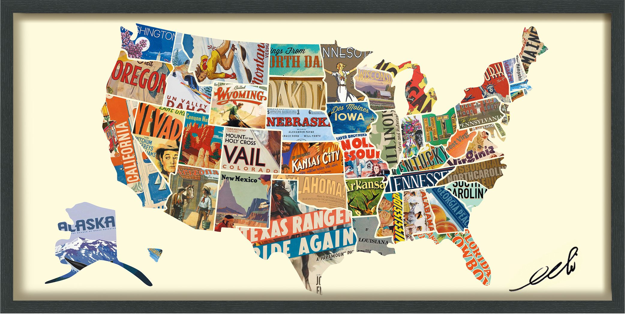 Across The States Artwork