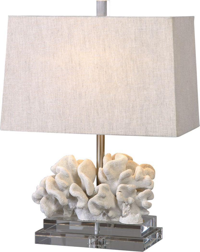 Ada Shores Ivory Lamp