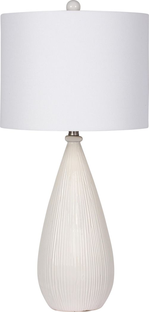 Adaley White Lamp