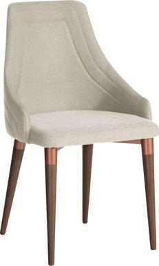 Adavan Beige Arm Chair