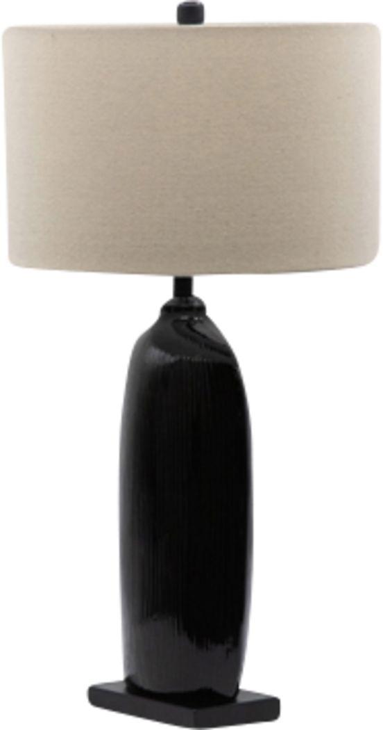 Addies Nest Black Lamp