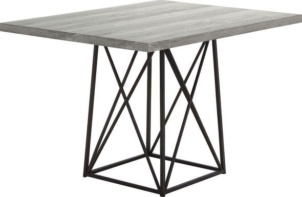 Addine Gray Dining Table