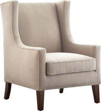 Addington Taupe Accent Chair