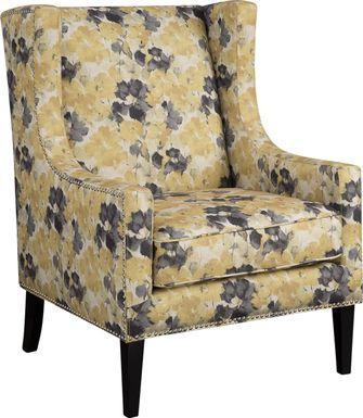 Addington Yellow Accent Chair