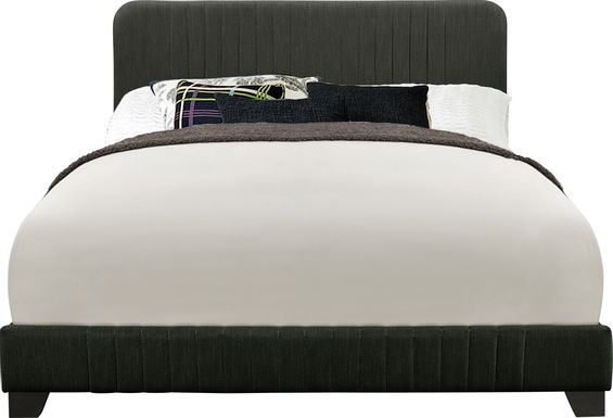 Addison Avenue Gray Queen Upholstered Bed