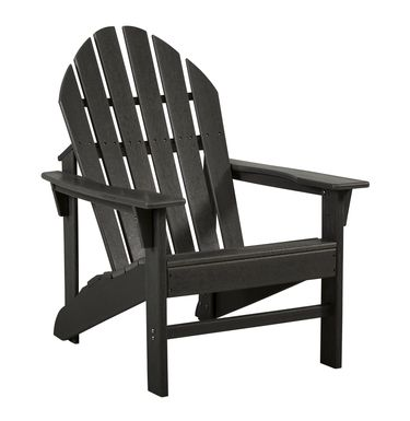 Addy Black Outdoor Adirondack Chair