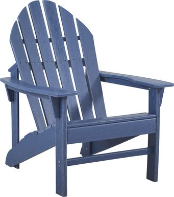 Addy Navy Outdoor Chair