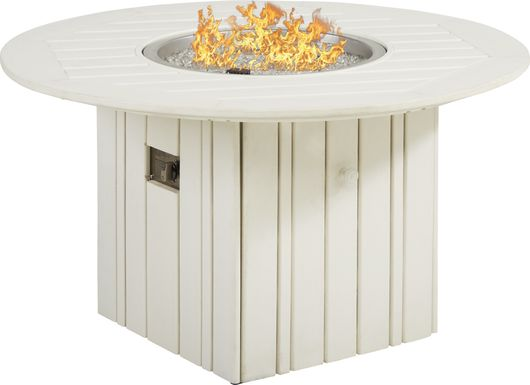 Addy White Fire Pit