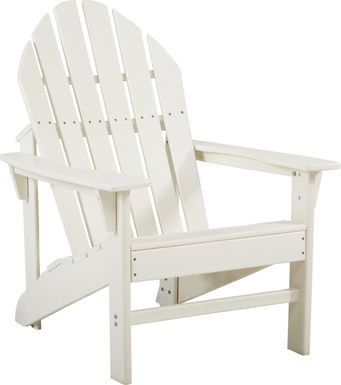 Addy White Outdoor Chair