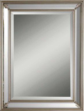 Adelicia Silver Mirror