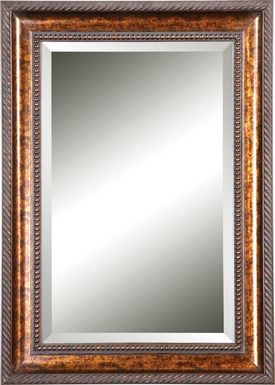 Adeliz Brown Mirror