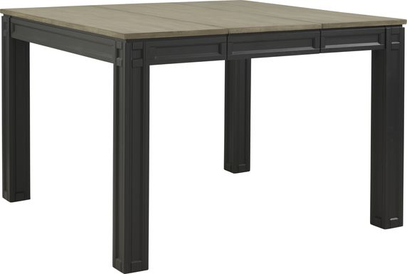 Adelson Black Counter Height Dining Table