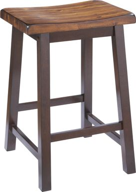 Adelson Chocolate Counter Height Stool