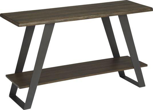 Aden Dark Brown Sofa Table