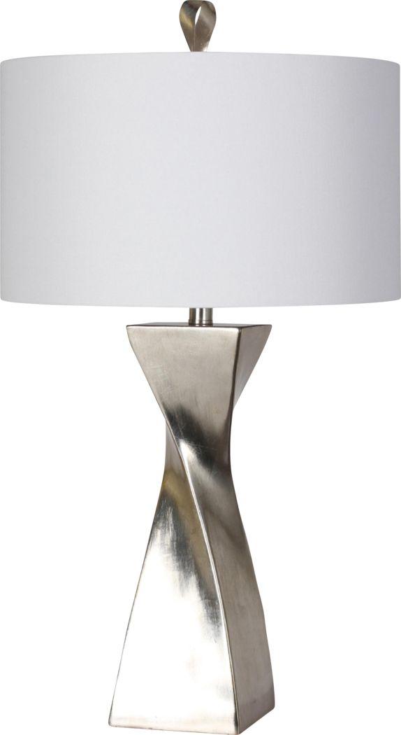 Adirondack Way Silver Lamp