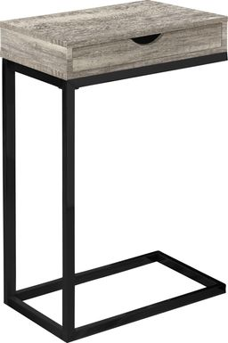 Adlai Taupe Accent Table