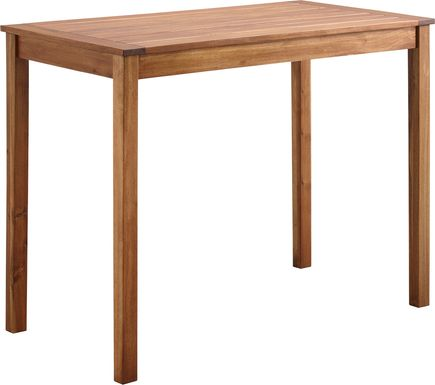 Adlebert Brown Counter Height Dining Table