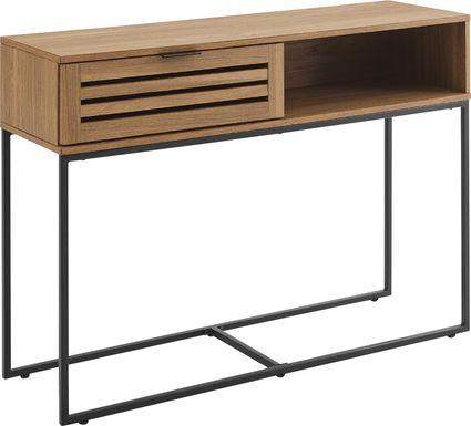 Adlora Oak Console Table