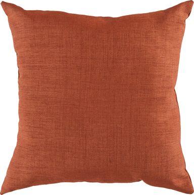 Adney Orange Indoor/Outdoor Accent Pillow
