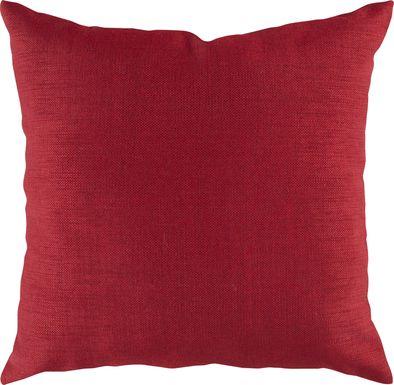 Adney Red Indoor/Outdoor Accent Pillow