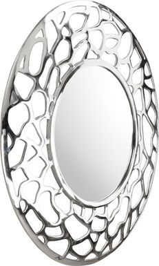 Adnot Silver Mirror