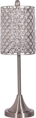 Aftonshire Silver Lamp