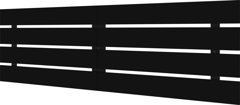 Agora Way Black Queen Headboard