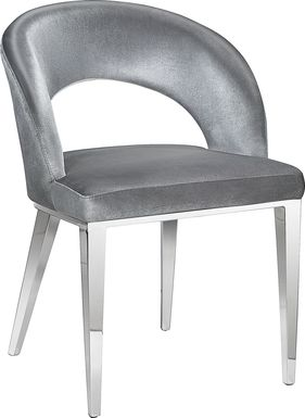 Ahern Gray Arm Chair