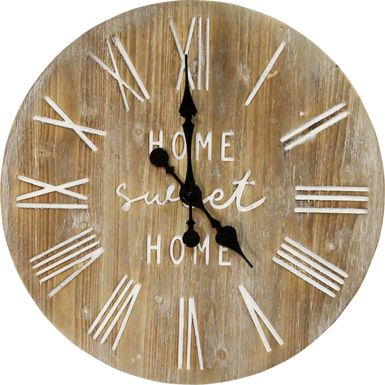 Airie Natural Clock