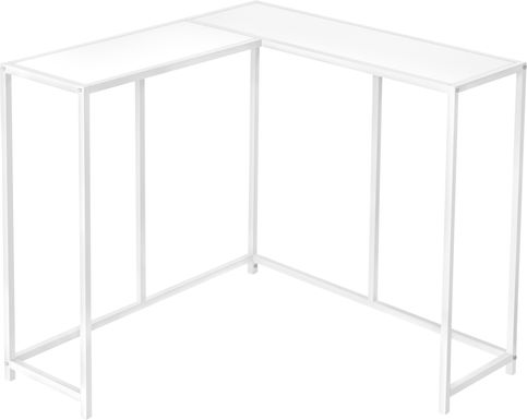Aisquith White Sofa Table