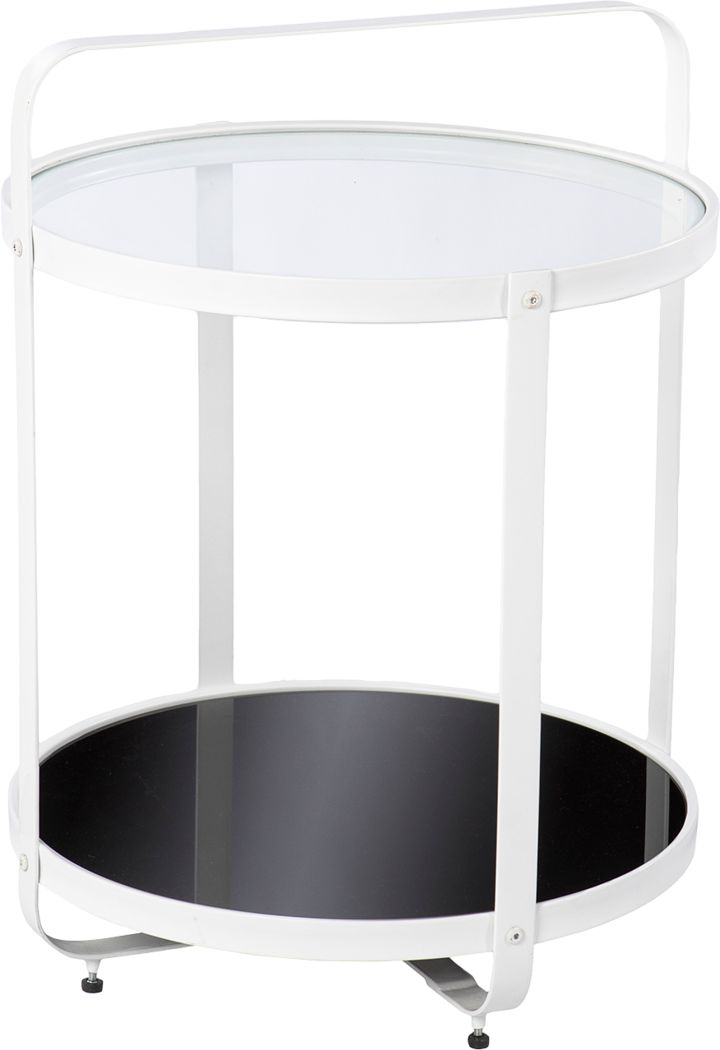 Alamance Black End Table