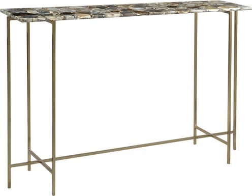 Alamein Brass Sofa Table