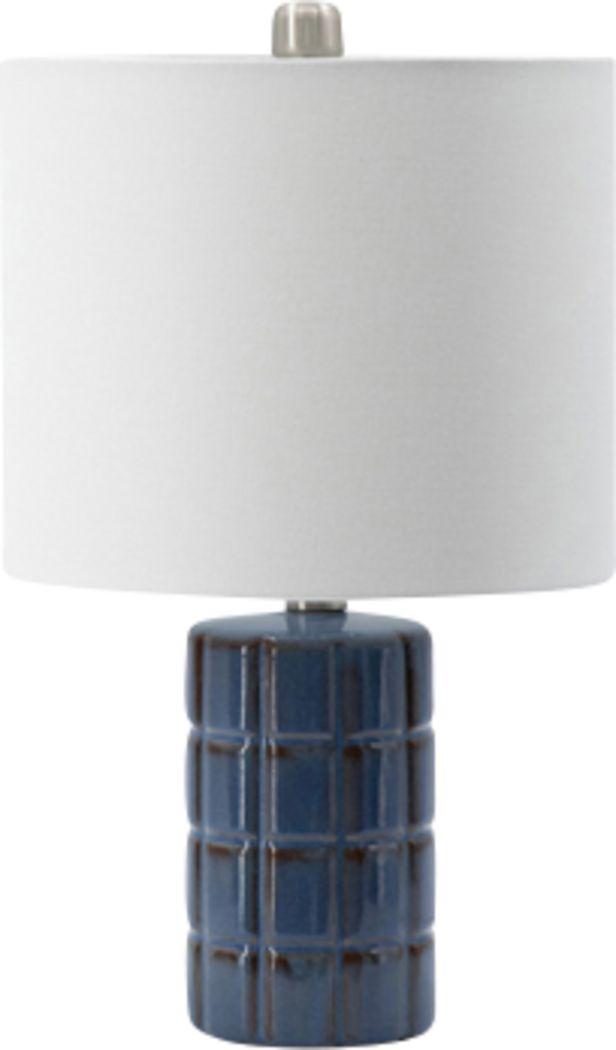 Alamo Way Blue Lamp