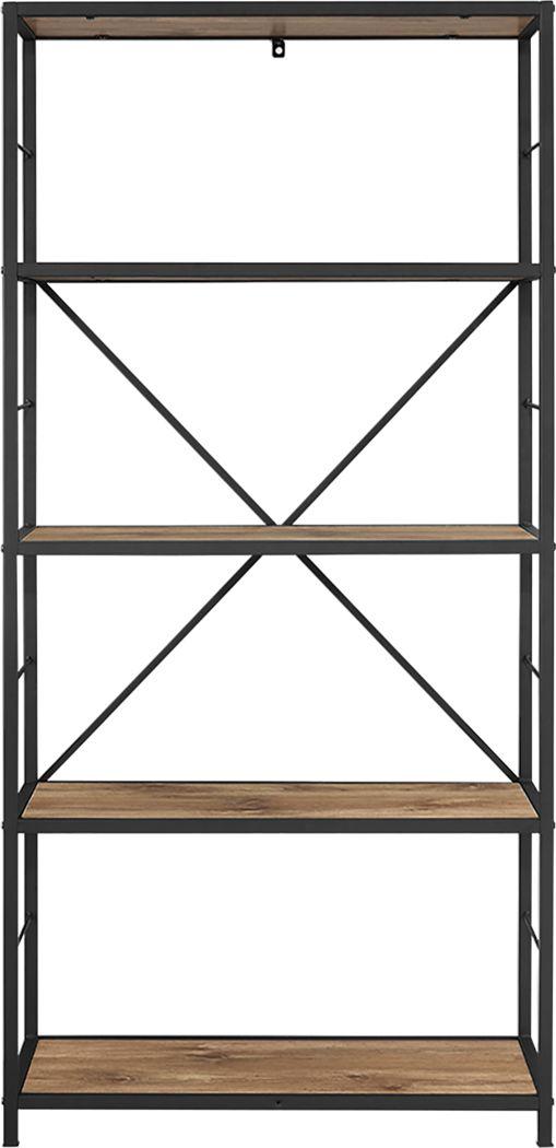 Alcott Brown Bookcase