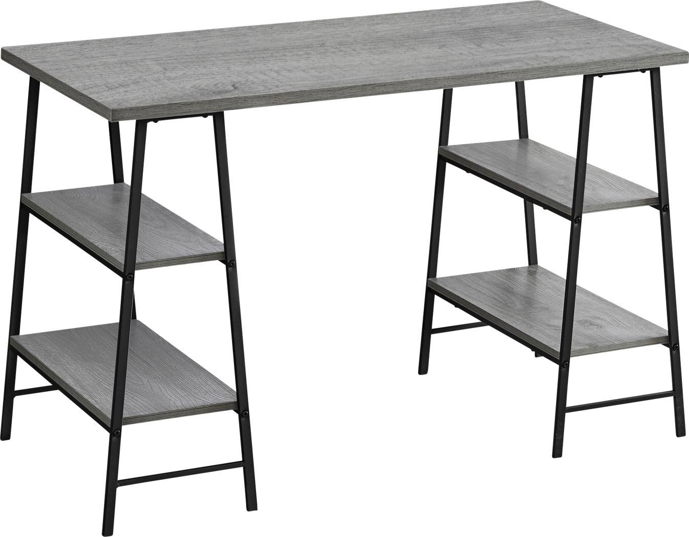 Alderseade Gray Desk