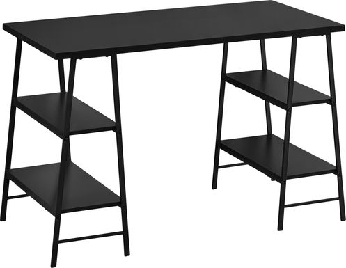 Aldersmeade Black Desk