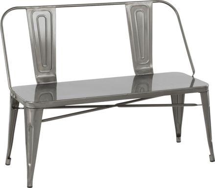 Aldersyde Silver Accent Bench