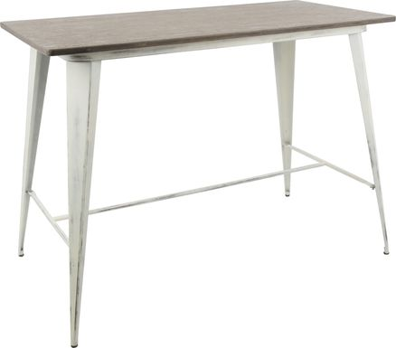 Aldersyde White Counter Height Table