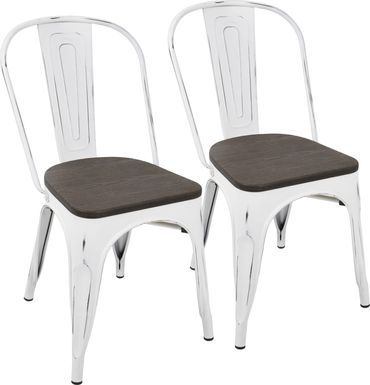 Aldersyde White Dining Chair (Set of 2)