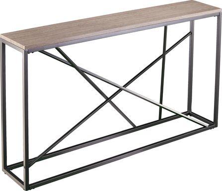 Alderton Tan Console Table