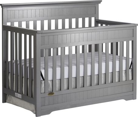 Aldridge Gray Convertible Crib