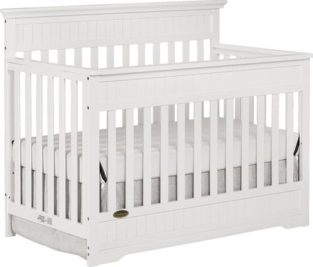 Aldridge White Convertible Crib