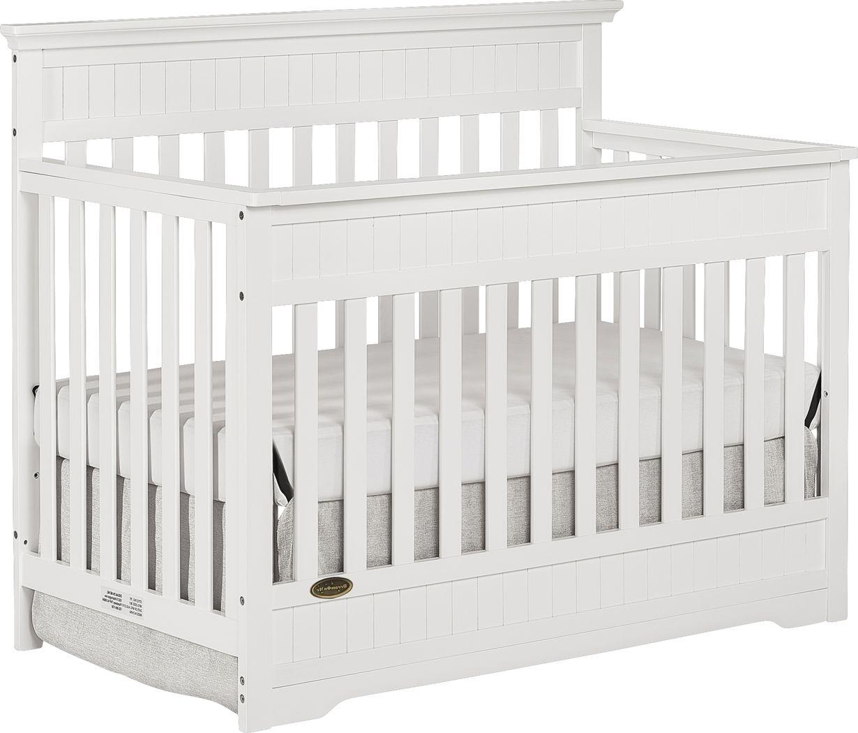 Aldridge White Convertible Crib