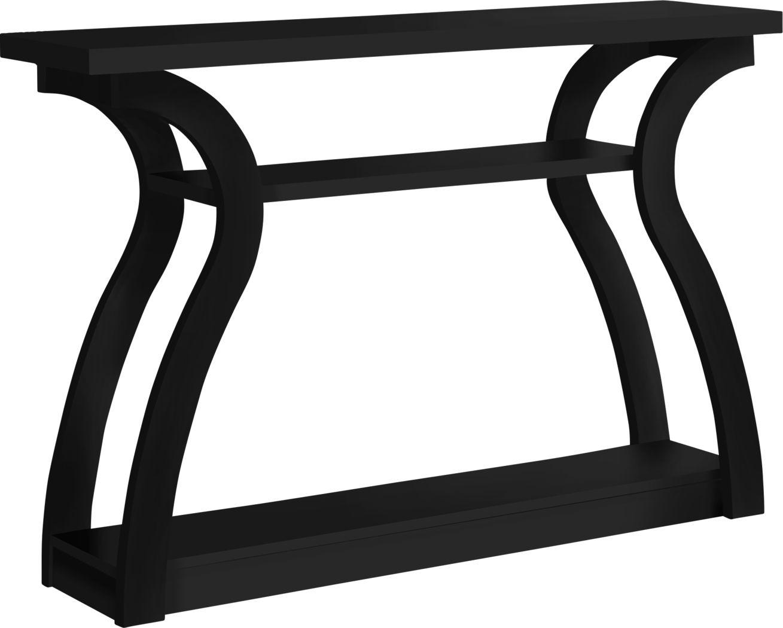 Aldworth Black Sofa Table