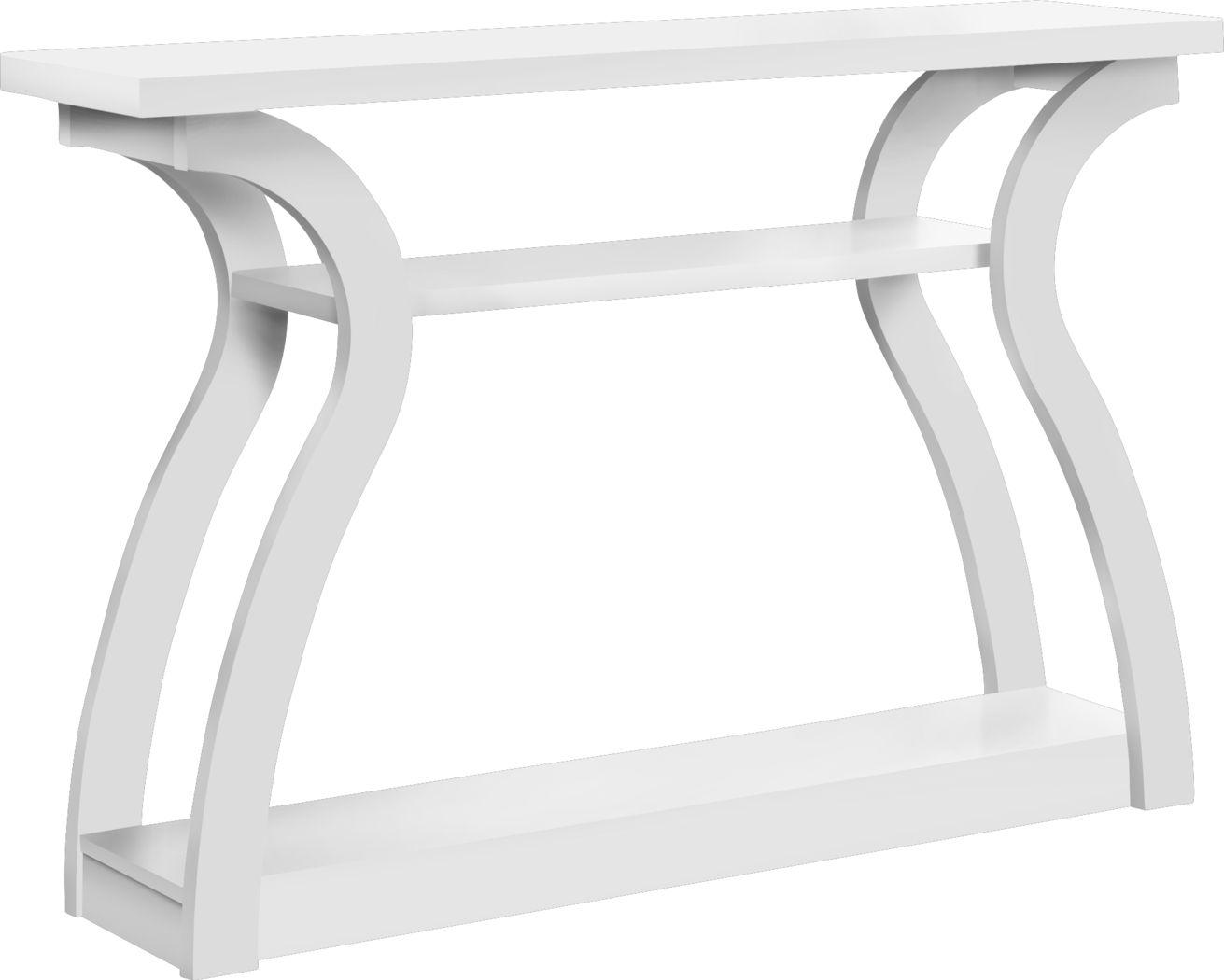 Aldworth White Sofa Table