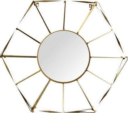 Aleah Gold Mirror