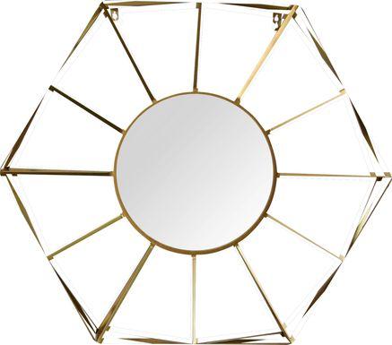 Aleah Gold Mirror