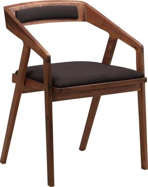 Alekai Black Arm Chair