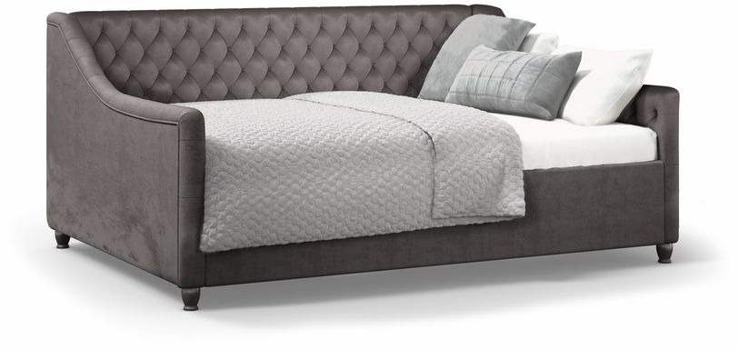 Alena Charcoal 3 Pc Twin Daybed