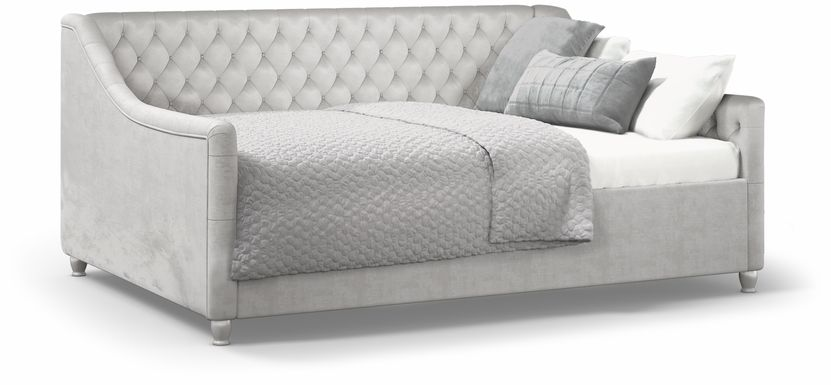 Alena Silver 3 Pc Twin Daybed
